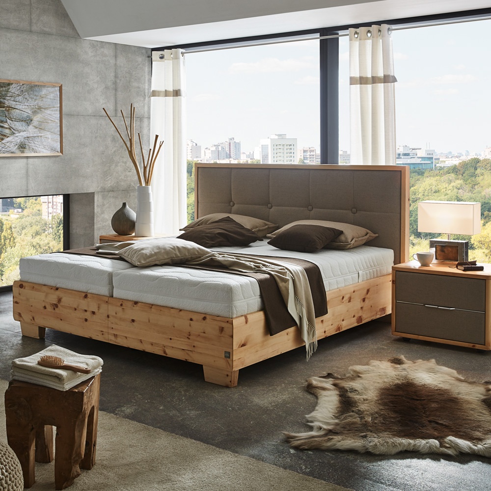 zirbenbett pure pine die sterreichische m belindustrie. Black Bedroom Furniture Sets. Home Design Ideas
