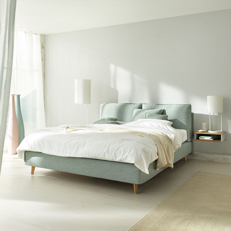 Boxspringbett ikea mjölvik  Free try out of Boxspring bed Arte from Joka in 3D, VR and AR